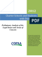 Charter Schools and Students With Disabilities Final