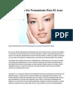 Alternativas en Tratamiento Para El Acne