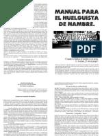 Manual Huelguista Hambre