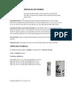 CARACTERÍSTICAS BÁSICAS DE LOS FUSIBLES