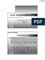 Wirebond Steps
