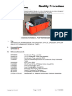 QP045000-AB Condensate Pump Quality Procedure