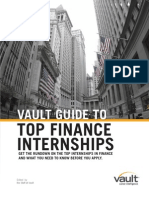 Top 10 Finance Internships 2011