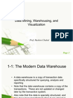 Data Mining, Warehousing, And Visualization