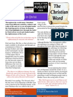 LCF Newsletter August 2008