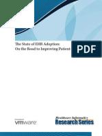 VMW_The State of EHR Adoption_Q3 2010