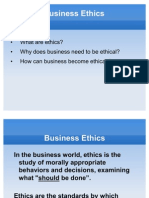 Business Ethics - Session 5