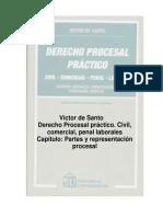 DE SANTO - Partes_y_representación_procesal