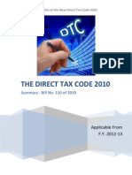 Direct Tax Code Proposals