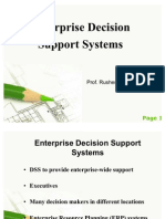 Enterprise Decision Support Systems