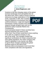 Corporate Ethics Word Good One
