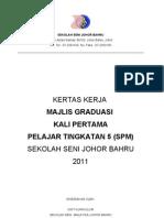 Kertas Kerja Majlis Graduasi 2011