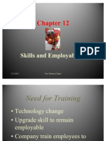 Employee Relations - Skills and Employ Ability