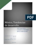 Tendencias De Desarrollo México.