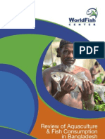 Review of Aquaculture and Fish Consumption in Bangladesh