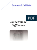 12 -Les Secrets de l'Affiliation