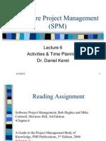 Software Project Management (SPM)-Lecture-6