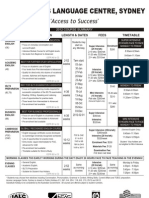 Access - 2012 Price List