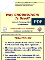 Why Grounding is Used-8th Vis RC