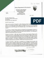 Carta Del DOI a DRD 7 de Julio 2011