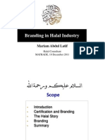 Branding in Halal Industry by Pn Mariam Abdul Latif, Halal Consultant