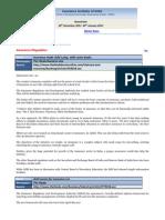 Newsletter- 30 December 2011 - 5 January 2012