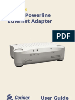 CX AV200 Powerline Ethernet Adapter Manual Eng Manual