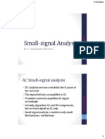 Lecture 3 - Small Signal Analysis (2 Spp PDF)