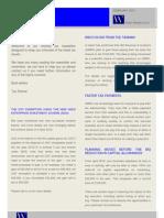 Tax Newsletter UK February 2012