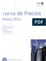 LR SPAIN PriceList March2012 v03