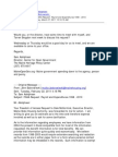 MHPC request for meeting with MSHA - March 7, 2011