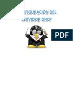 Configuraión del servidor DHCP