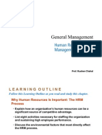 General Management - Human Resource Management