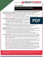 KPC Info 12 Exhaust System