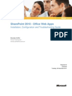 Share Point 2010 - Office Web Apps