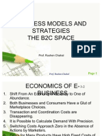 Internet Marketing - b2c Business Models and Strategies