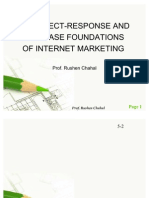 Internet Marketing - Response and Database Foundations