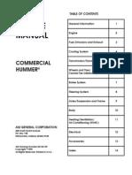 2000 Hummer Service Manual