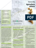 Triptico Curso on-line Agricultura Urbana