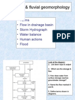 Hydrology & Fluvial Geomorphology
