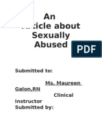 An Article About Sexually Abused