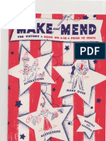 Make Mend for Victory 1942 1 of 2