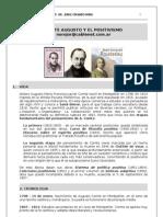 41. COMTE Y EL POSITIVISMO