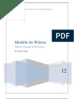 Modèle de Wilson