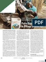 Analysis of Polio Fight 2006