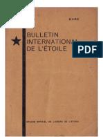 Bulletin International de L'Étoile N°14 Mars 1929 par J. Krishnamurti