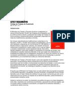 cÓDGO DE TRABAJO GUATEMALA Leyes y Reglamentos