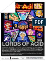 Lords Of Acid - Deep Chills - Retail Info