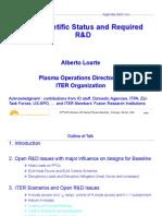 ITER-Scientific-Status ELMs and Disruptions