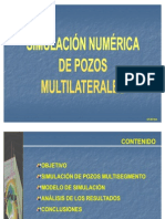 Simulacion Numerica Pozos Multi Later Ales